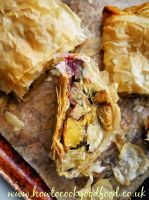 Christmas Vegetable Strudel recipe by Laura Scott
