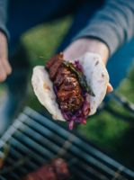 Warming venison gochujang kebabs recipe from The Salt Box