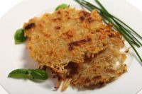 Potato rosti cakes
