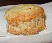 Wholewheat cheese and chive scones recipe