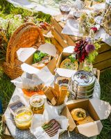 Stay Loyal to Local series - The Salt Box launch picnic feasts and woodland dining